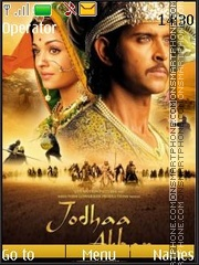 Jodhaa Akbar theme screenshot