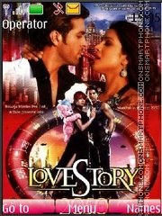 Love story-2050 theme screenshot