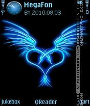 Blue Symbol theme screenshot