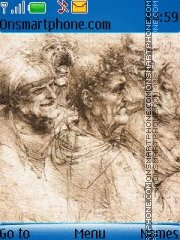 Leonardo da Vinchi es el tema de pantalla