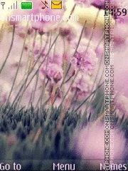 Flower es el tema de pantalla