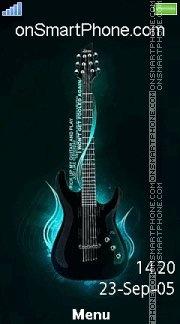 Guitar 15 es el tema de pantalla