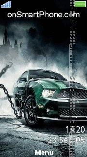 Drift Mustang es el tema de pantalla