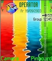 Colourful theme screenshot