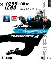 Transporter 3 02 es el tema de pantalla