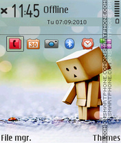 Danboard tema screenshot
