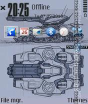 Sc tank theme screenshot