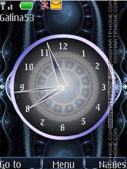 Analg clock anim theme screenshot