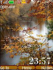 Скриншот темы Autumn Water
