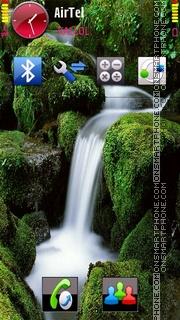 Waterfall V2 es el tema de pantalla