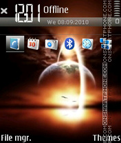 SunSet 15 theme screenshot