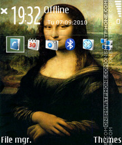 Mona Lisa Da Vinci L. v1 theme screenshot
