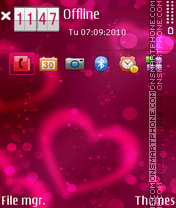 Erd valentine theme screenshot