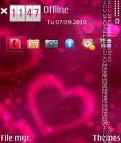 Erd valentine es el tema de pantalla