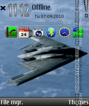 B2 bomber theme screenshot