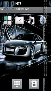 Audi TT 03 theme screenshot