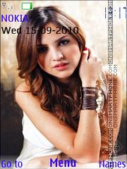 Eiza Gonzalez theme screenshot