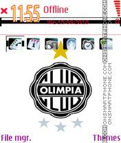 Olimpia the best club of the world es el tema de pantalla