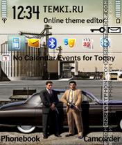 Скриншот темы Mafia 2 Fanart