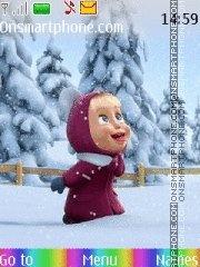 Masha i medved theme screenshot