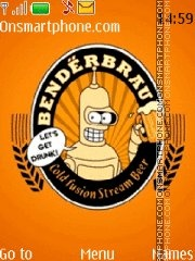 Bender 01 theme screenshot
