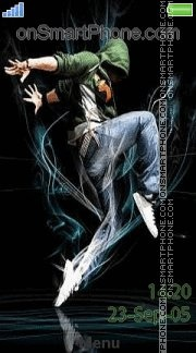 Dancing Dude es el tema de pantalla