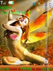 Fairy Girl theme screenshot