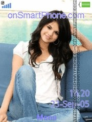 Capture d'écran Selena Gomez 03 thème