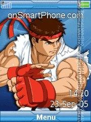 Capture d'écran Ryu 05 thème