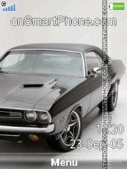Dodge Challenger Rt es el tema de pantalla