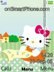 Hello Kitty Picnic es el tema de pantalla