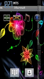 Flower 10 theme screenshot