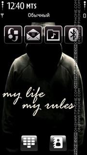Скриншот темы Life Rules