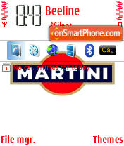 Martini theme screenshot