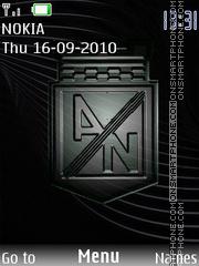 Atl Nacional theme screenshot