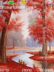 Red autumn 02 tema screenshot