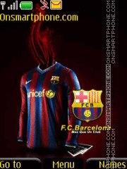 FC Barcelona 17 theme screenshot
