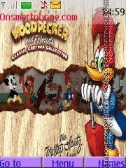 Woody Woodpecker theme screenshot