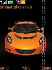 Lotus Exige GT3 theme screenshot