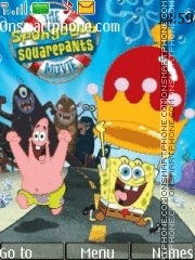 Sponge Bob 06 theme screenshot