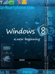 Windows 8 theme screenshot