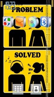 Problem Solved es el tema de pantalla