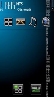 Blue New theme screenshot