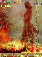 Capture d'écran Autumn thème