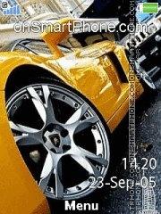 Lamborghini Gallardo 05 theme screenshot