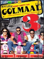 Golmaal 3 theme screenshot