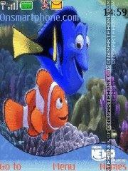 Скриншот темы Finding Nemo 01