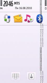 Nokia Light theme screenshot