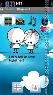 Lets Fall theme screenshot