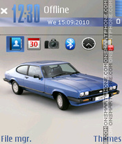 Mercury Capri theme screenshot